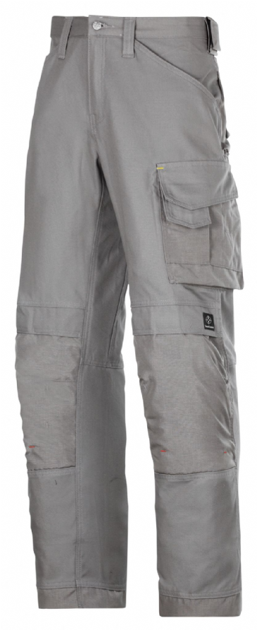 Snickers 3314 Canvas+ Craftsmen Trousers (Grey)